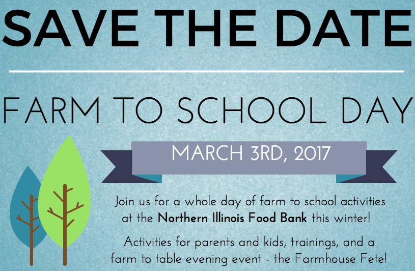 Join us for Farm to School Day!