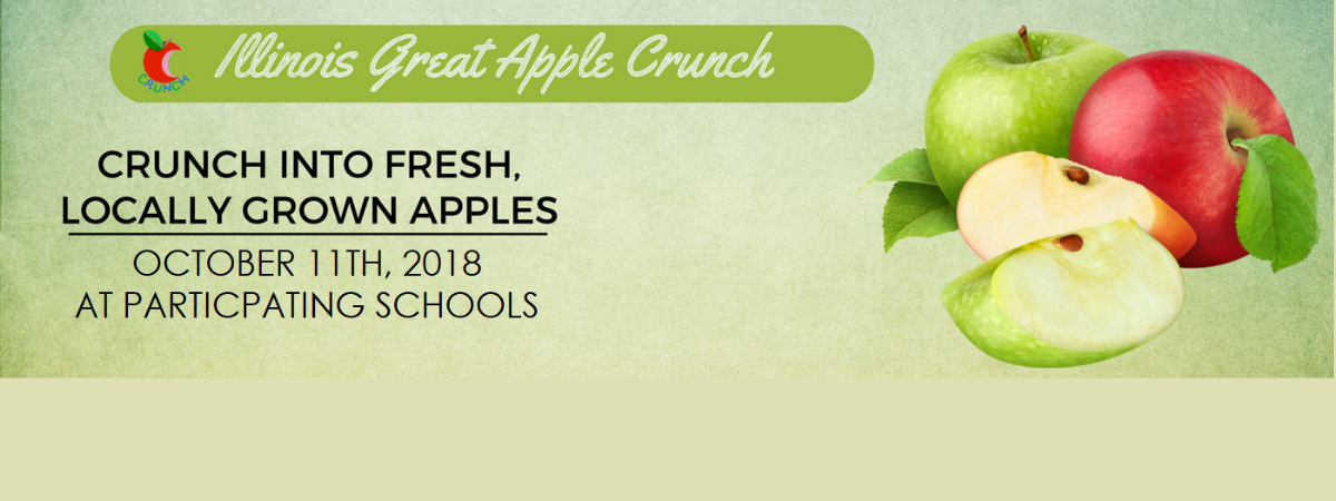 Illinois Great Apple Crunch 2018
